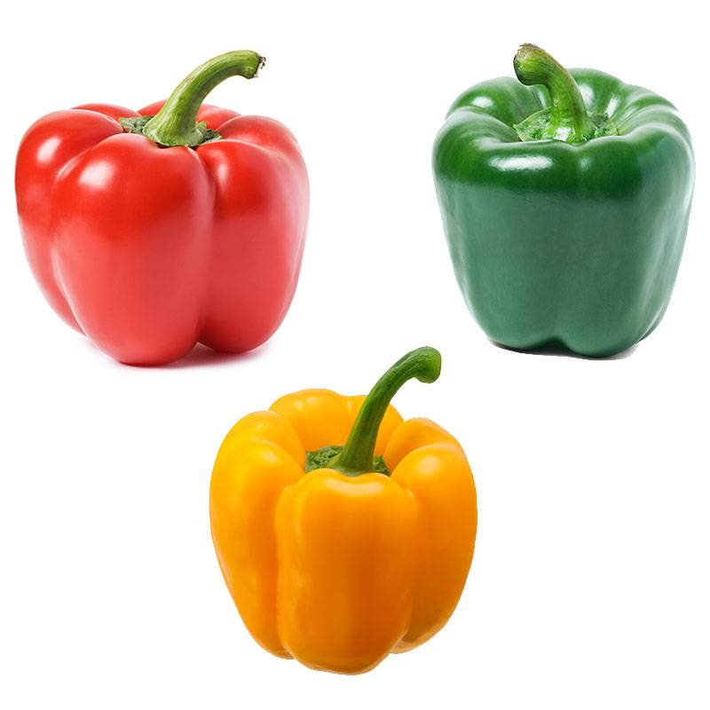Peppers - Assorted (1Red/1Green/1Yellow)
